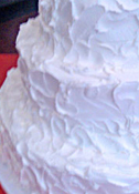 Textured Buttercream Icing Wedding Cake